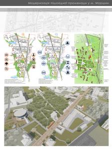 Модернізація пішохідної променади м. Моршина