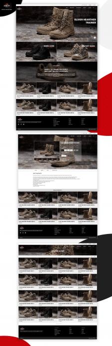 Дизайн интернет-магазина Зенит