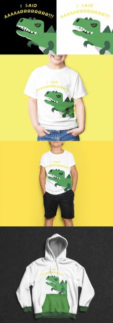 Иллюстрация на футболку