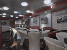 кафе в частной гостинице