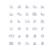 "Иконки для презентации Компании ""RTC-ELECTRO-M"""