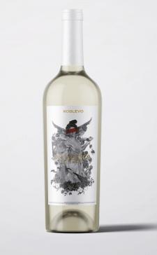 этикетка для вина