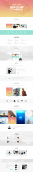 Mogo creative template (landing page)