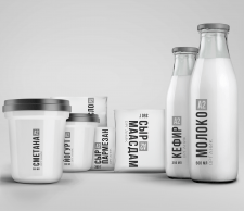 Бренд бук молочной продукции