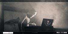 Сайт-визитка Диджеев