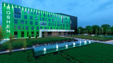 3D Візуалізація другої фабрики ROSHEN у Вінниці