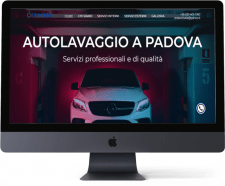 Дизайн для сайта авто мойки CarWash