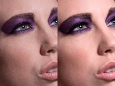 Ретушь с сохранением текстуры кожи