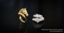 Ring like Horse head