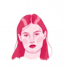 Иллюстрация - портрет