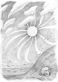 Иллюстрация к поэзии Ильи Шумея
