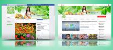 Обложка и аватар для Facebook и YouTube
