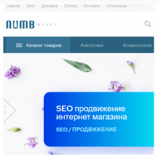 SEO продвижение интернет магазина косметики