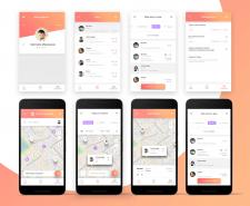 Дизайн для моб приложения