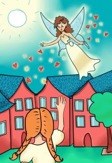 Одна из иллюстраций детской книги