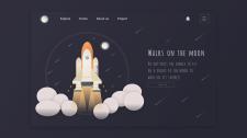 Walks on the moon - web UI