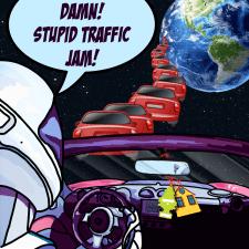 Комикс про пробки