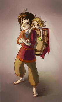 Турин и его сестренка Лалайт