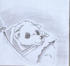 Панда карандаш
