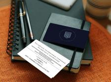 Визитка для юридической фирмы