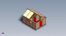 Сборной панельный дом