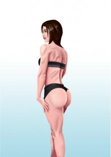 Muscle body/woman