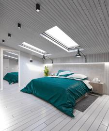 Спальня 2 этаж квартиры