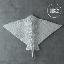 3d модель скульптури Batoidea ODESD2
