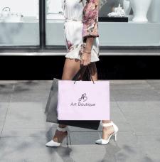 Логотип бутика итальянской одежды Art Boutique