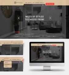 Редизайн главной страницы сайта по продаже плитки