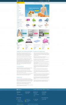 Дизайн интернет-магазина Polotenca