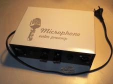 Ламповый преамп для динамического микрофона