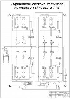 гідравлічна схема- креслення