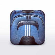 Иконка для iPhone — Рюкзачек