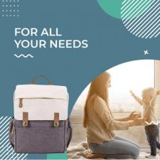 Shopify магазин cумок и рюкзаков для мам Mossi