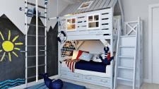 Детская комната для будущего моряка