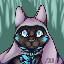 Кот в лесу