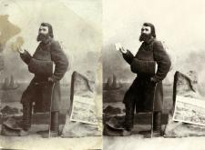 Реставрация старой студийной фотографии