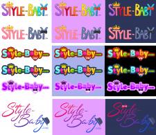 Логотип сайта детской одежды