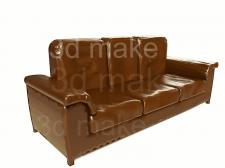Моделирование для каталога,модель диван.