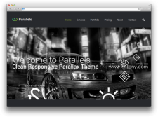 Parallels (landing page)
