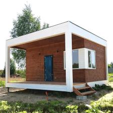Деревянный домик. Реализация проекта.