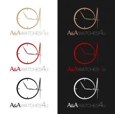 Логотип для интернет магазина часов