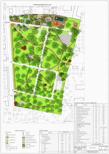 Генеральный план парка