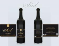 Этикетка на вино