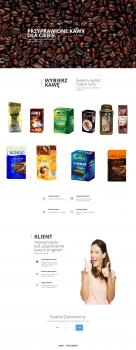 Сайт визитка для польской фирмы