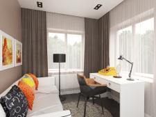 Дизайн комнаты в современном  стиле