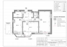 Обмерный чертеж квартиры