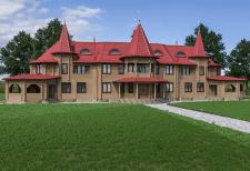 Гостевой дом для загородного комплекса