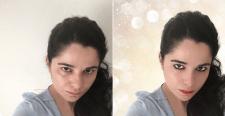 Ретуш лица + замена фона